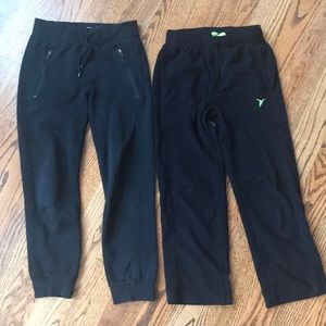 Old Navy boys Med size 8 black play pants 🖤